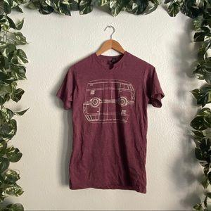 🆕TulTex VW Bus Graphic T-shirt